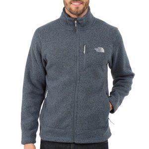 North Face blue Men's Gordon Lyons full zip jacket